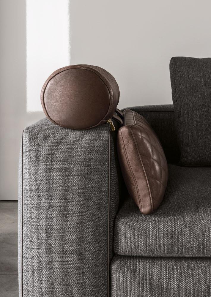 Leonard sofa geometric shapes