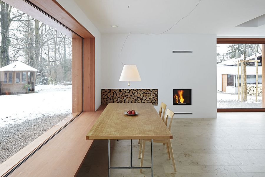 Living room of House 11 in Munich