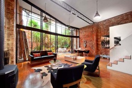 Beautiful Brick Walls: Warehouse Conversion in Fitzroy Conceals Twin Delights