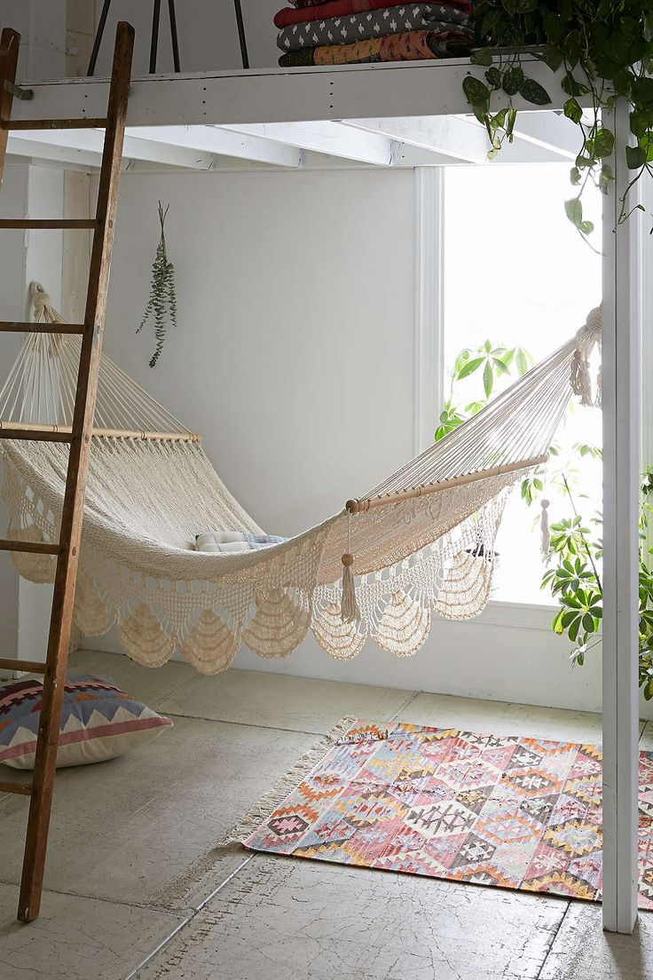 Macrame hammock from Urban Outfitters