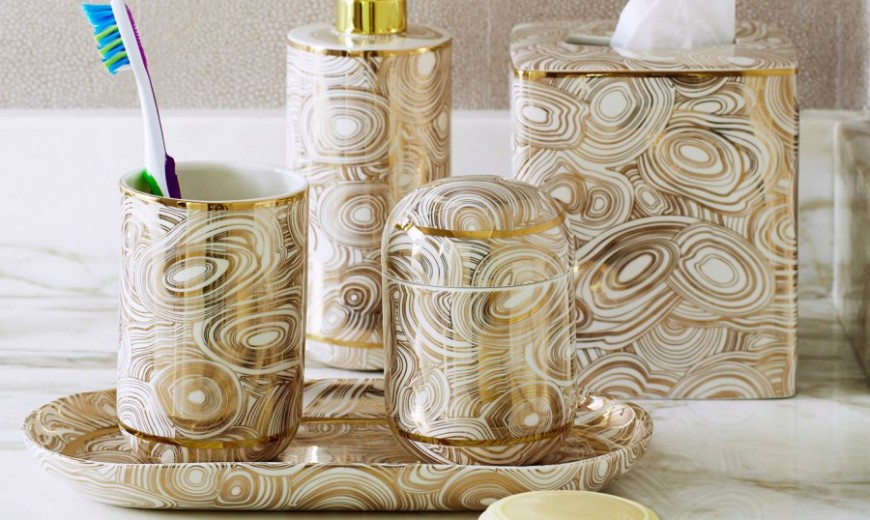 High-End Bathroom Accessories with Modern Style
