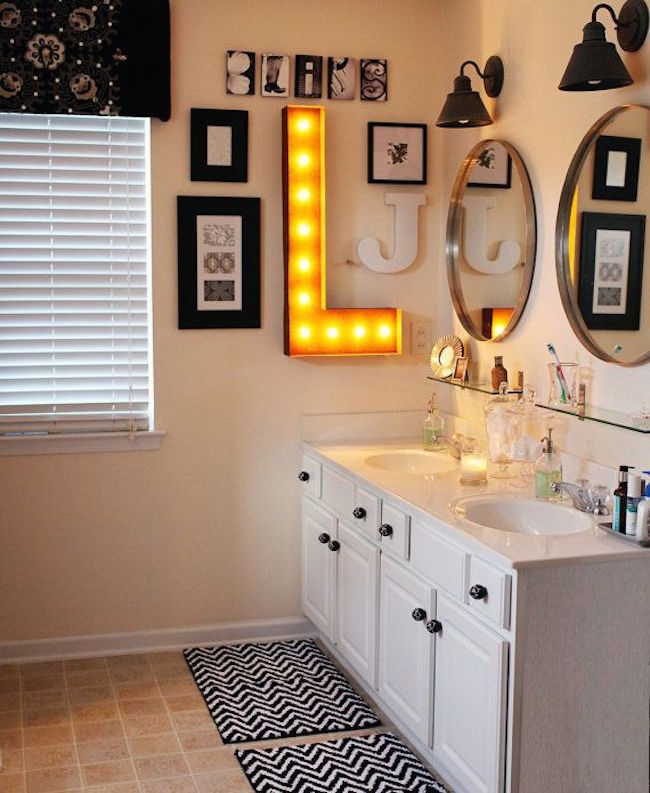 Vanity With Marquee Lights : 22 Illuminating Vintage Marquee Lighting Ideas
