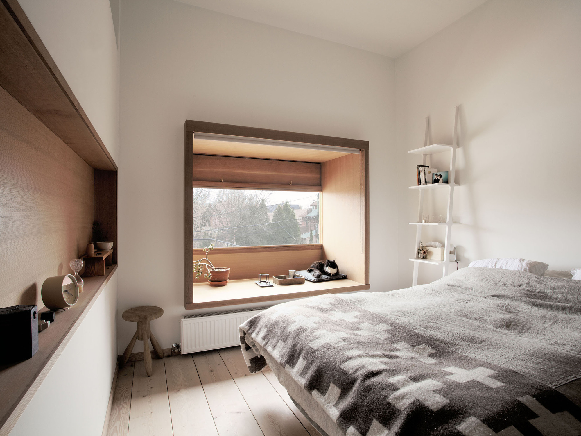 Mjölk House bedroom by Studio Junction