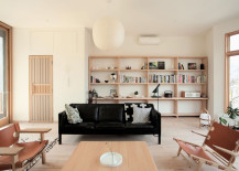 Mjölk House living space by Studio Junction
