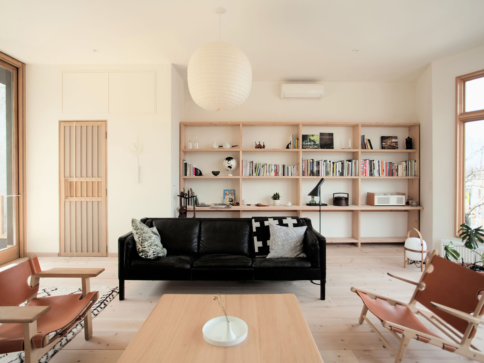 Mjölk House living space by Studio Junction
