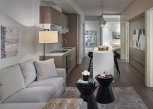 Model condominium highlights the materials, style and finishes of full fledged lofts and apartments