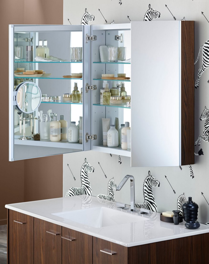 Bathroom mirror cabinets ideas - View In Gallery Modern Medicine Cabinet From Kohler