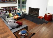 Modern-sunken-living-room-with-pops-of-color-217x155