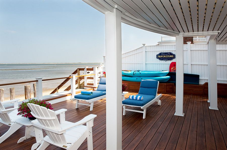 Porch Vs Deck Which Is The More Befitting For Your Home: 20 Dreamy Beach-Style Decks For A Relaxing Staycation