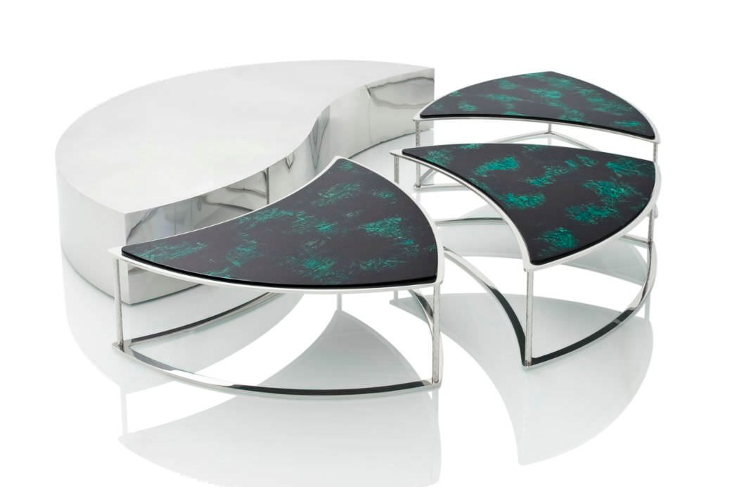 Modular coffee table from Emanuel Ungaro Home