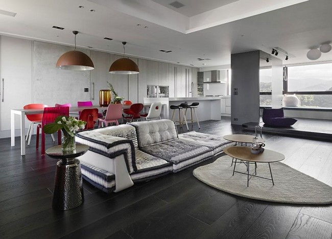 Colorful Rejuvenation: Refined Renovation Breathes Life into Old Taipei City Home