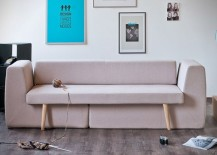 Modular sofa by Sofista