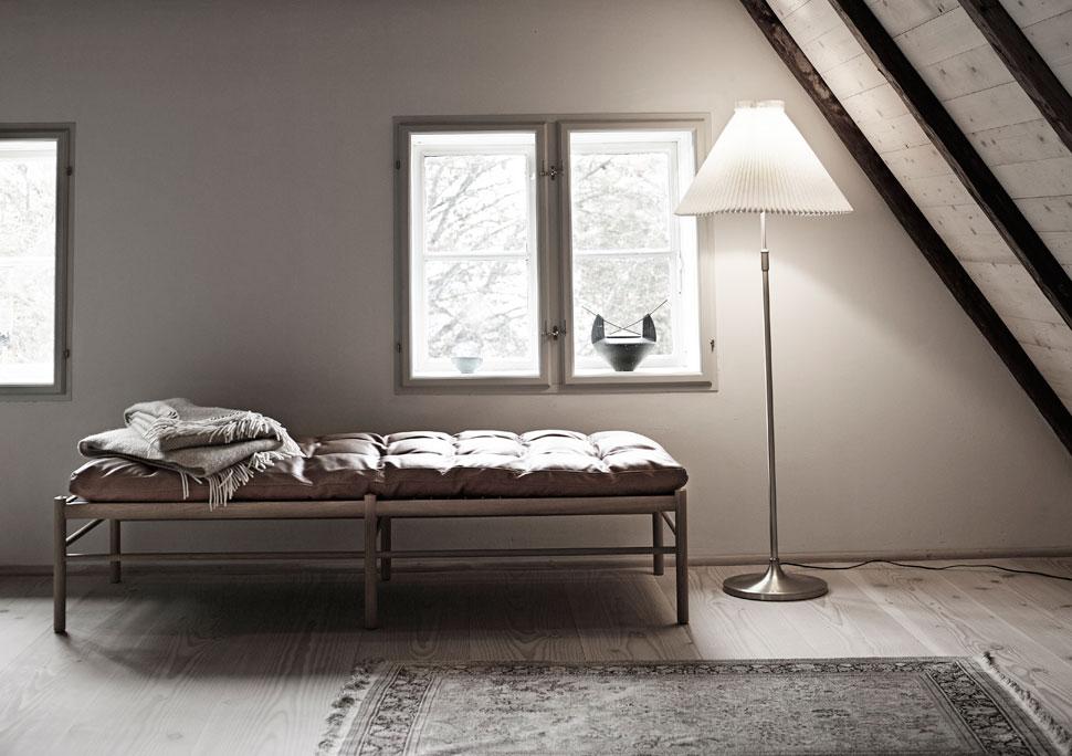 Ole Wanscher daybed in home of Knud Erik Hansen
