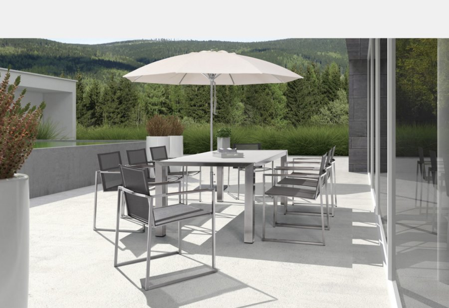 View In Gallery Outdoor Stainless Steel Table
