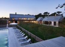 Gabled Potato Barns Inspire Modern East Hampton Family Home