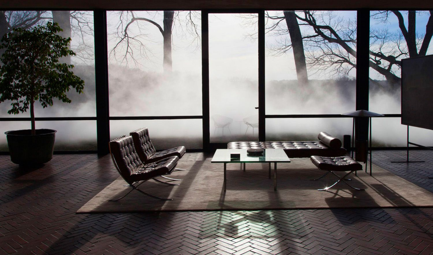 View In Gallery Philip Johnson Glass House