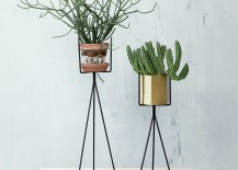 Plant stands from ferm LIVING 217x155 The 10 Best Standing Planter Options for Your Interior