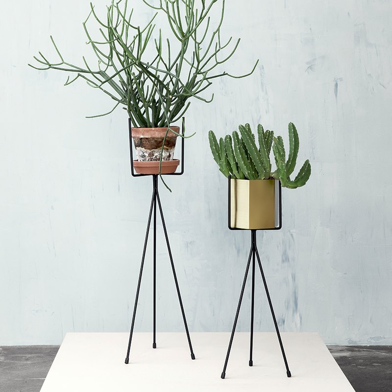Plant stands from ferm LIVING