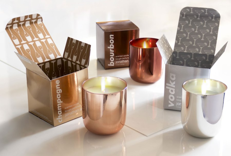 Pop Candles from Jonathan Adler