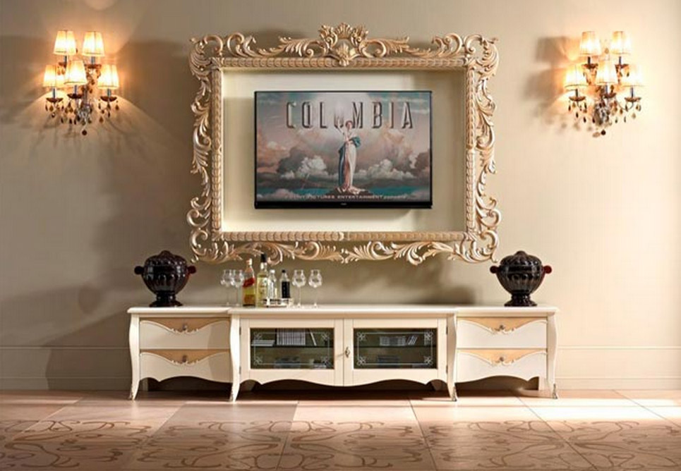Prearo Ornate TV Frame