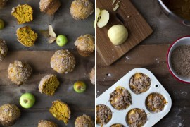 Pumpkin apple muffins from Say Yes  A Fall Checklist for Design Lovers Pumpkin apple muffins from Say Yes