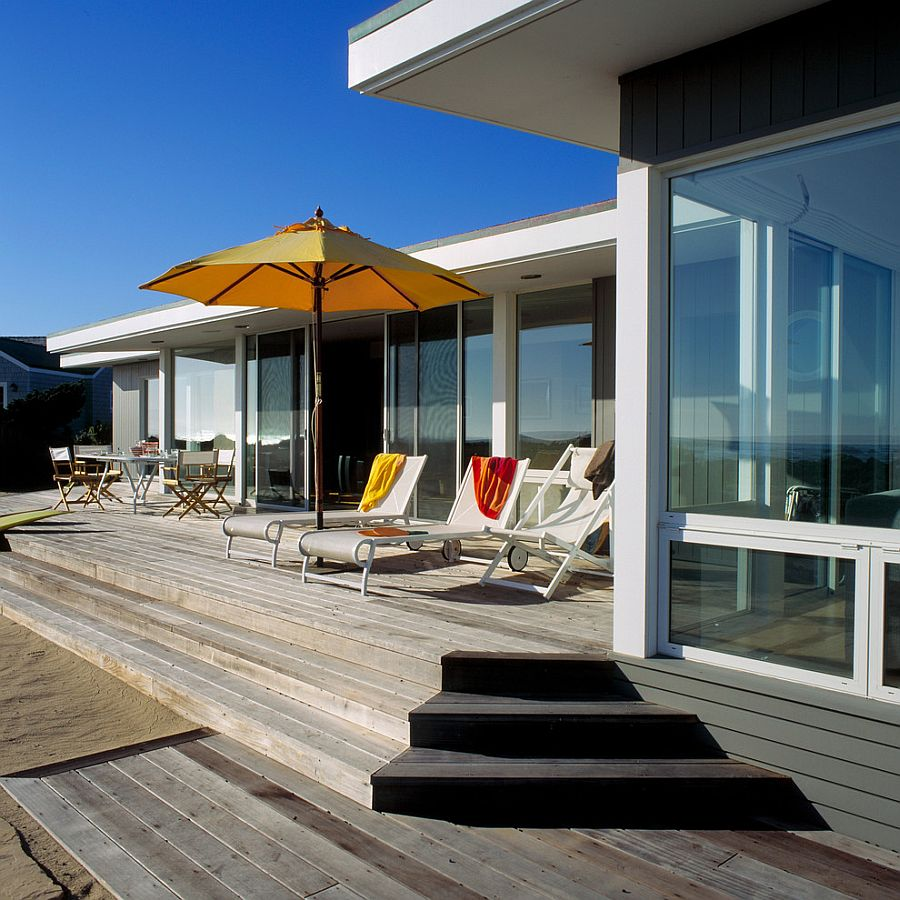 Clarkson Residence Cheerful Modern Beach House In Santa