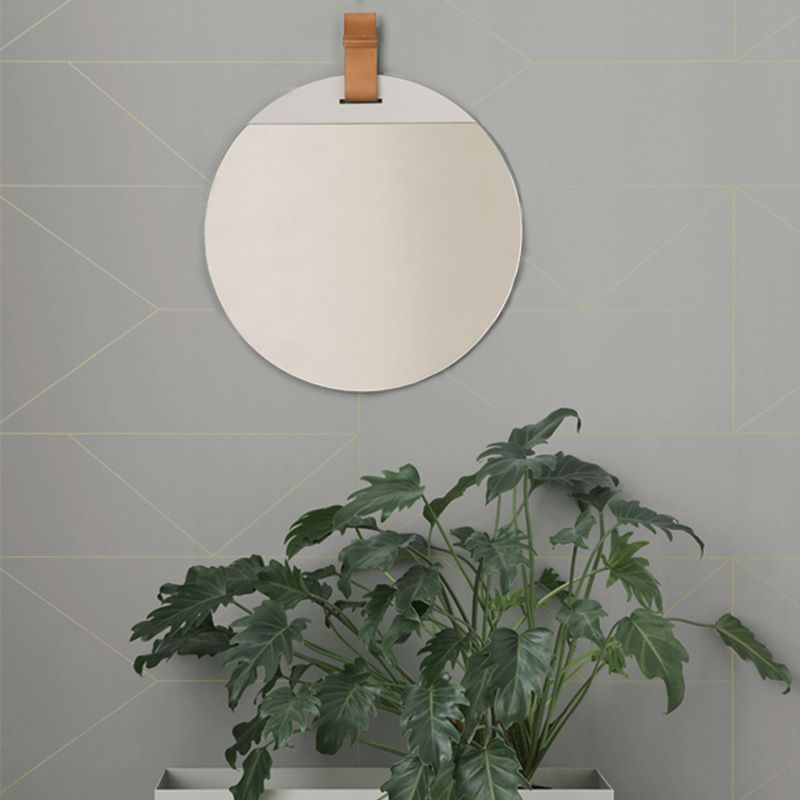 Round mirror from ferm LIVING