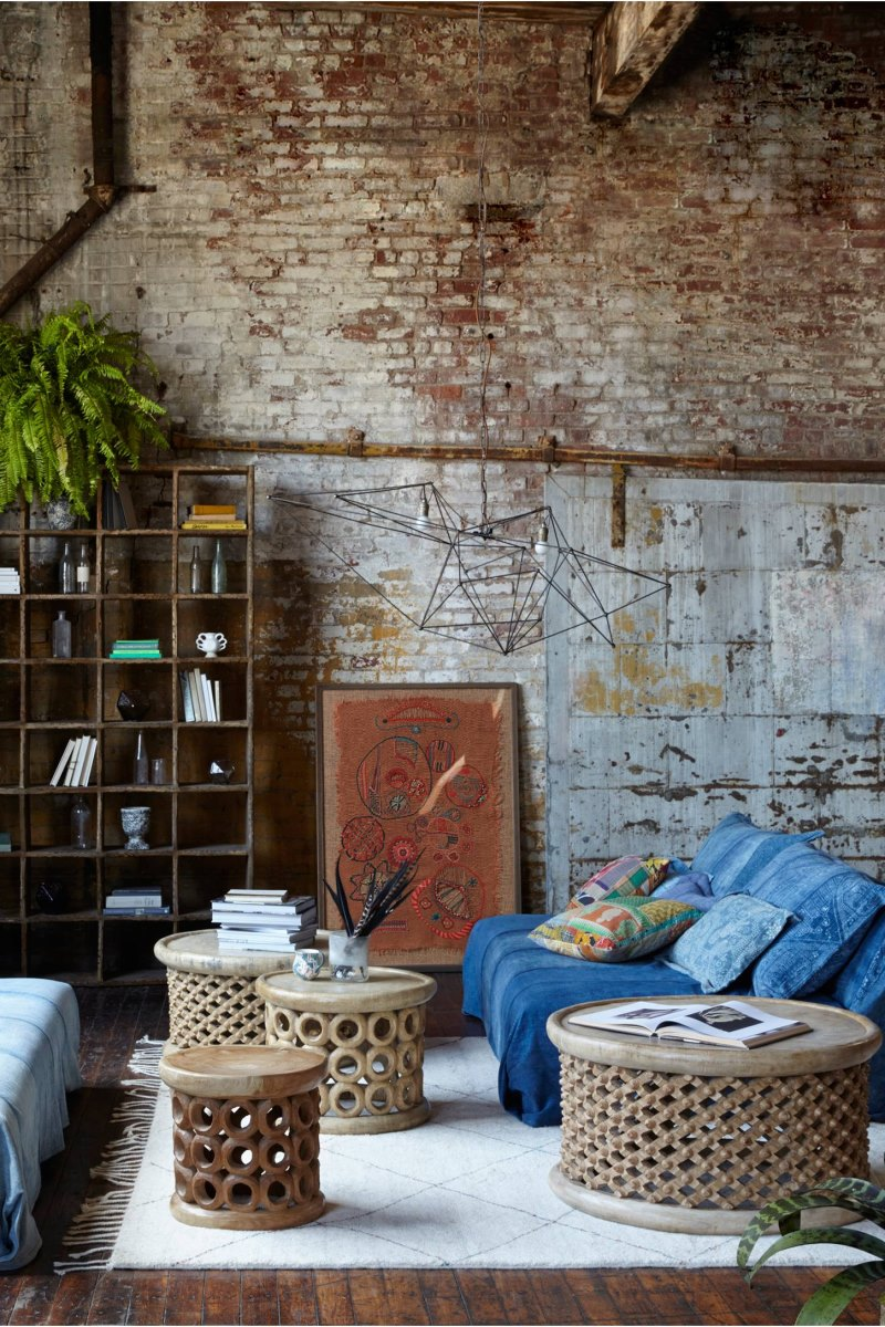 Round stools from Anthropologie