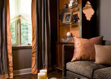 8 ways to Fall into Autumn with Rich, Rust-Colored Home Decor Rust Bedroom Decorating on rust rugs, rust dining room, rust baby bedding, rust bathroom, rust sofa decorating,