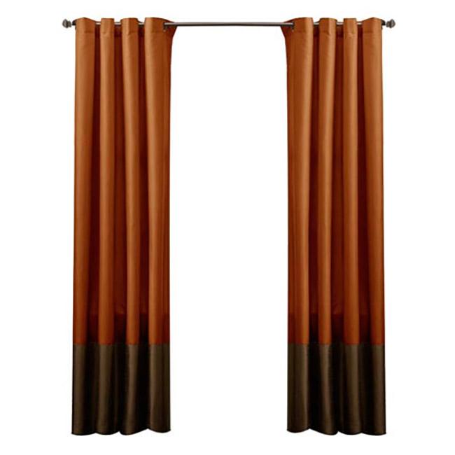 Rust Curtain Panels