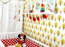 Scandinavian-retro-nursery-with-pops-of-yellow-and-red-217x155