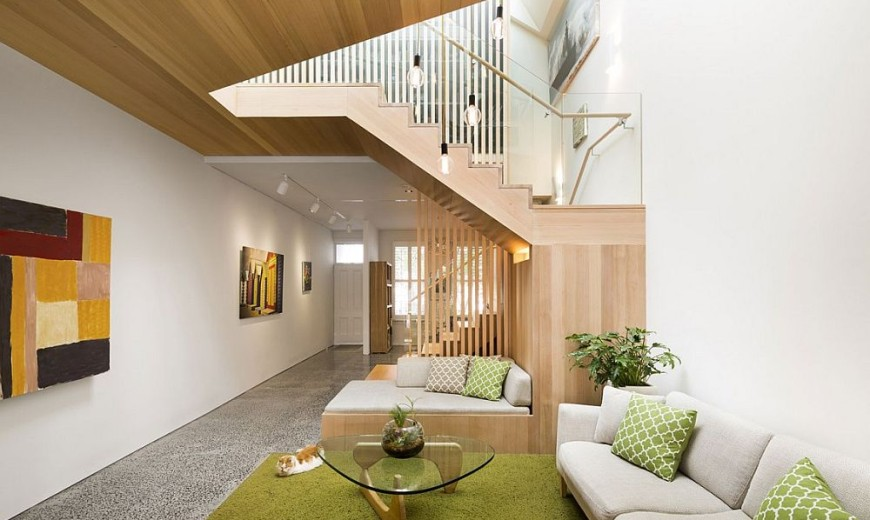 Shaping Your Home Around a Sculptural Staircase: Posh South Melbourne House 2