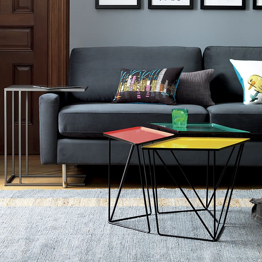Design Modular Coffee Table 20 modular coffee table ideas view in gallery set of 3 nesting tables from cb2