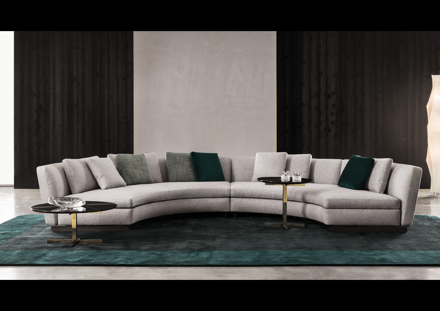 View In Gallery Seymour Curving Sofa