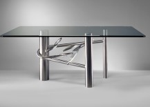 ... To Stainless Steel Dining Tables With A Sleek Modern Look. Read On For  A Roundup Of Tables That Are Currently Available For Purchase, As Well As  Plenty ...