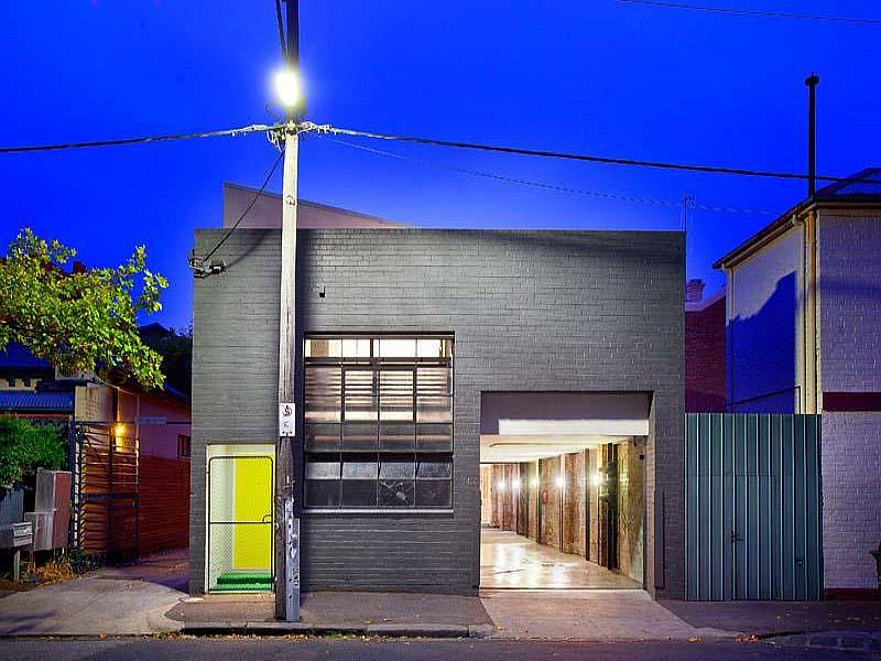 Street view or the Two-in-One Warehouse home in Melbourne
