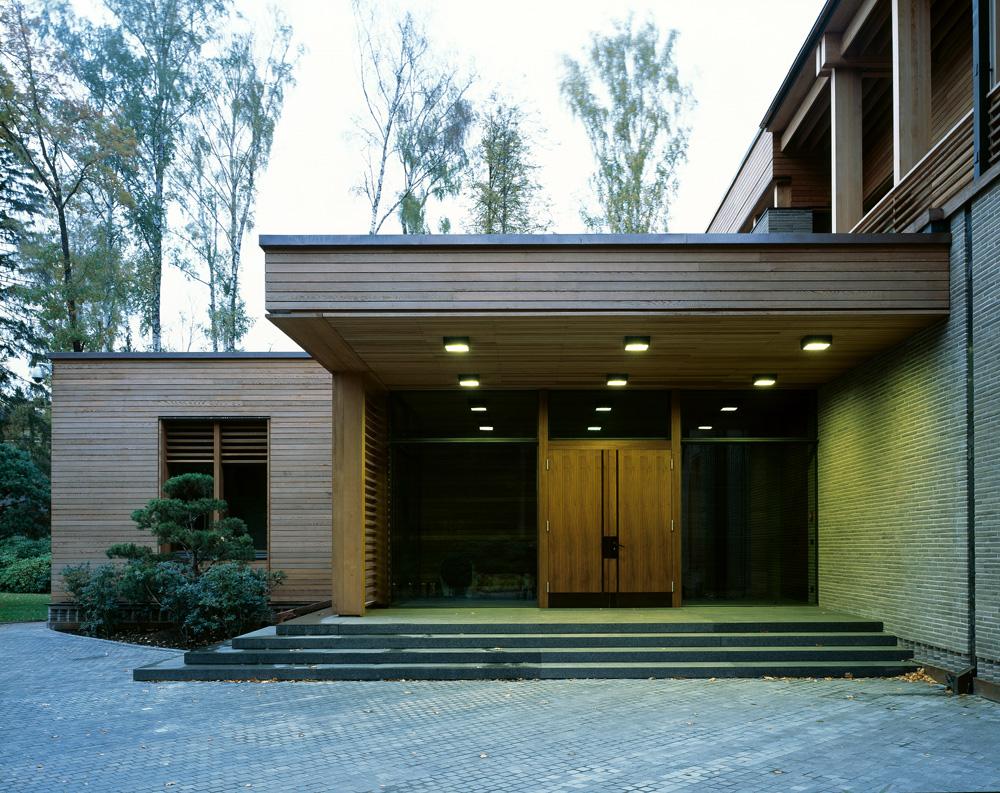 Studio Arch4 F House entrance