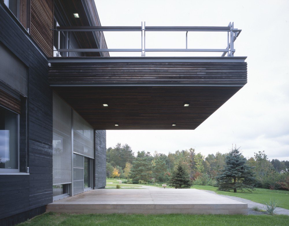 Studio Arch4 T House rear perspective
