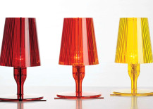 Take tabel lamp by Ferruccio Laviani 217x155 18 Kartell Icons in Plastic