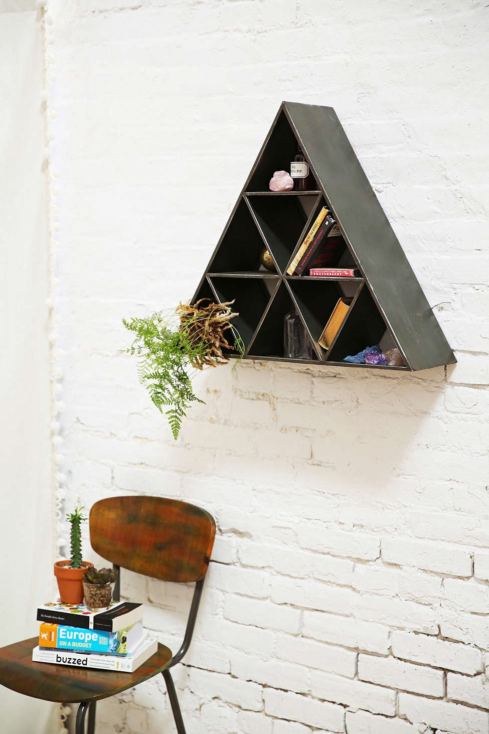 Triangle shelf from Urban Outfitters