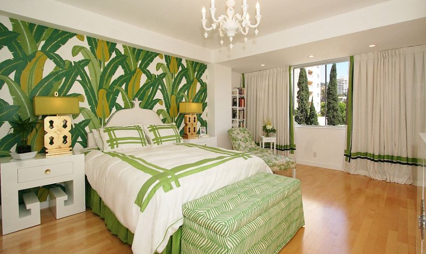 Revitalizing Style: 25 Chic and Serene Bedrooms with a Green Glint