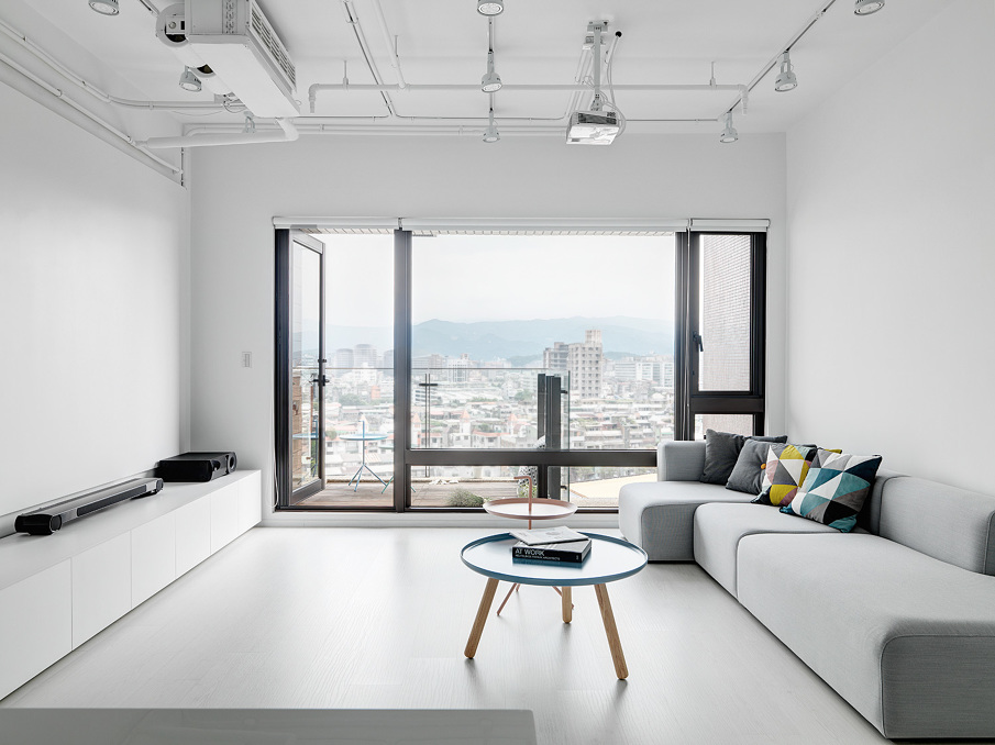 Tsai Residence living space