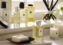 Upscale bath products from Jo Malone
