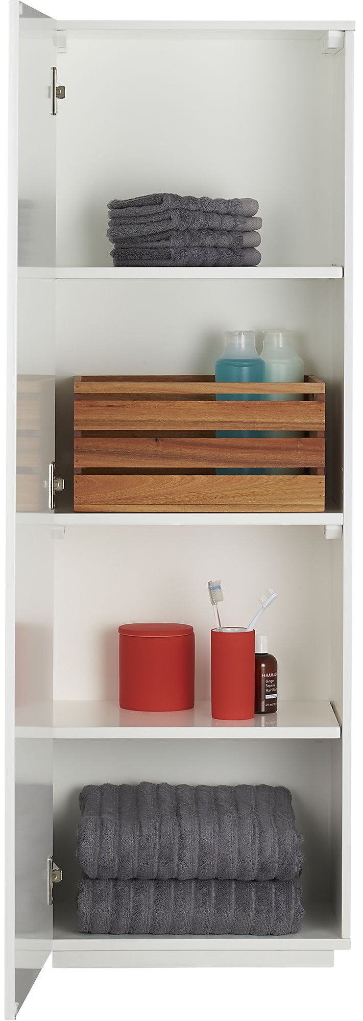 Wall-mounted bath cabinet from CB2