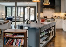 Walnut-cabinet-on-casters-offers-a-versatile-addition-to-the-kitchen-island-in-gray-217x155