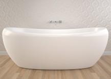 White Caroma tub available through Reece