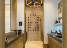 Wine storage in a Florida home