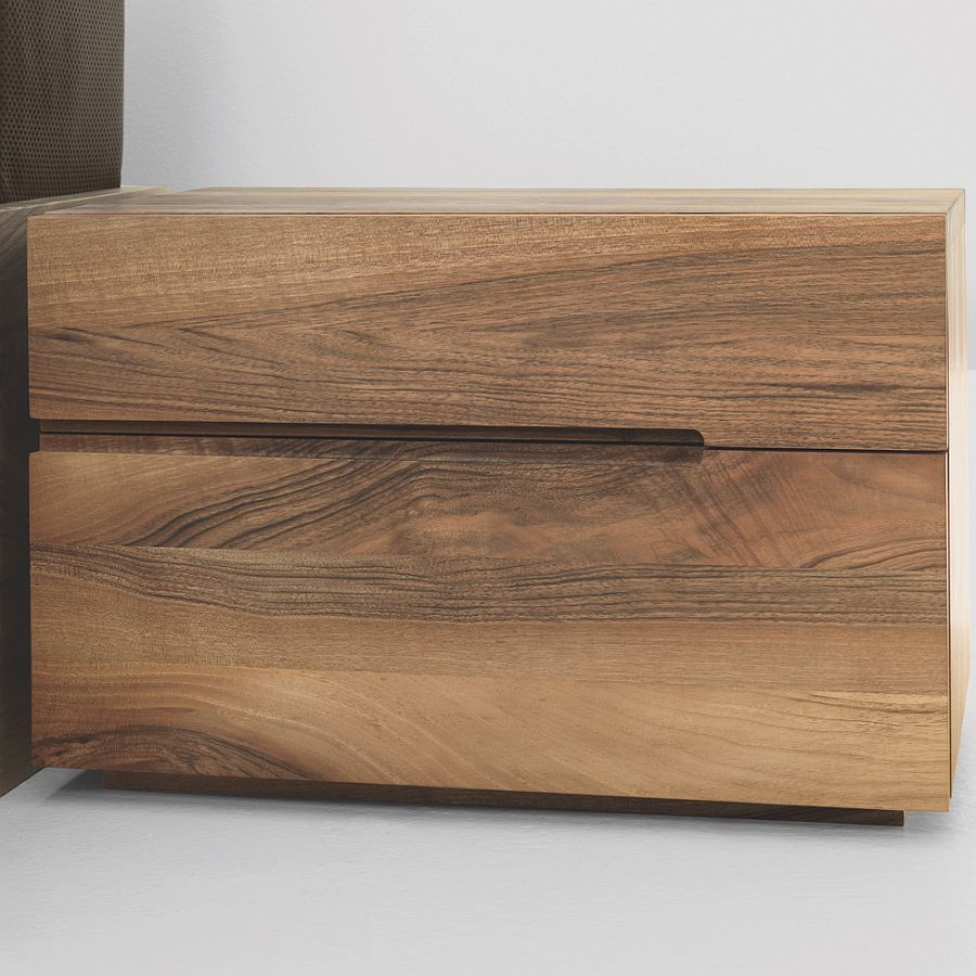 Zeitraum Nightstand in American walnut by Formstelle