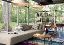 three-piece sectional sofa from CB2