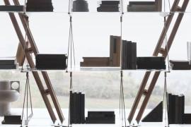 838 Veliero bookcase detail